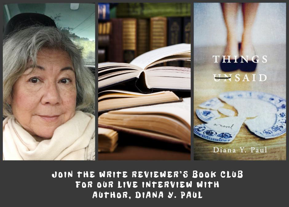 Diana Paul - Join her at the Review Book Club